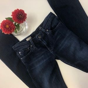 AG Blue Dark Wash The Ballad Jeans 26 LIKE NEW EUC